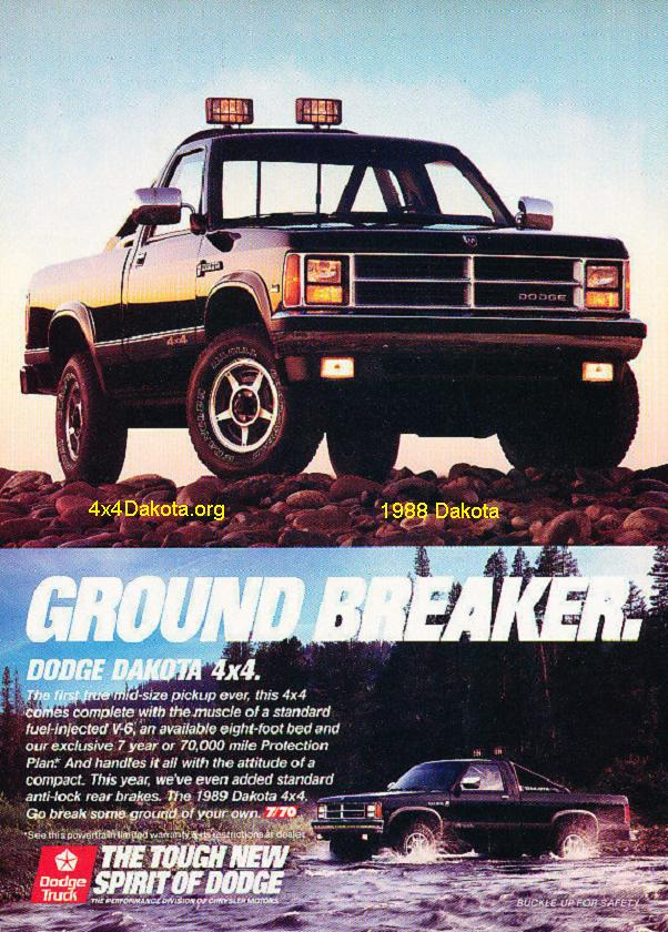 dodge dakota 1988