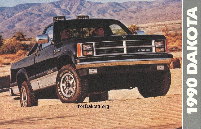 dodge dakota 1990