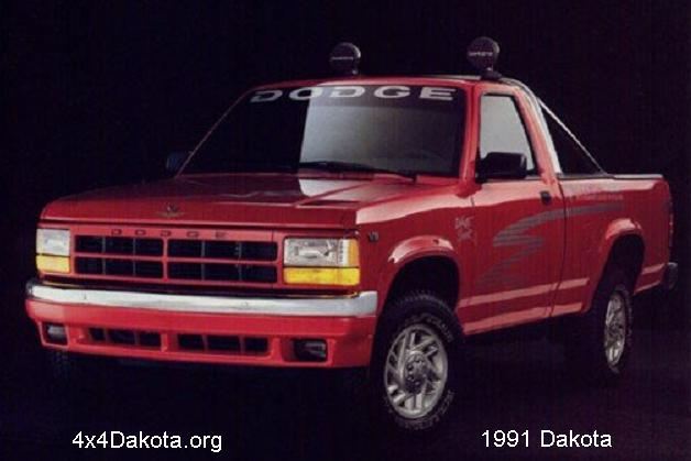 dodge dakota 1991 Dodge Dakota  1991 1996 specs