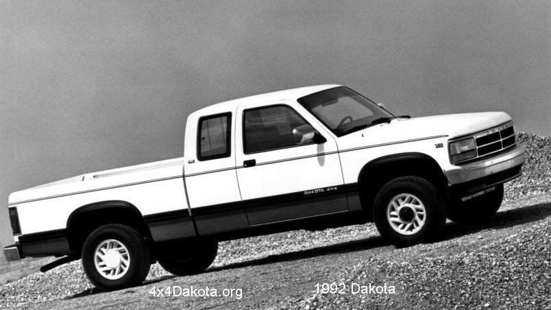 dodge dakota 1992 Dodge Dakota  1991 1996 specs