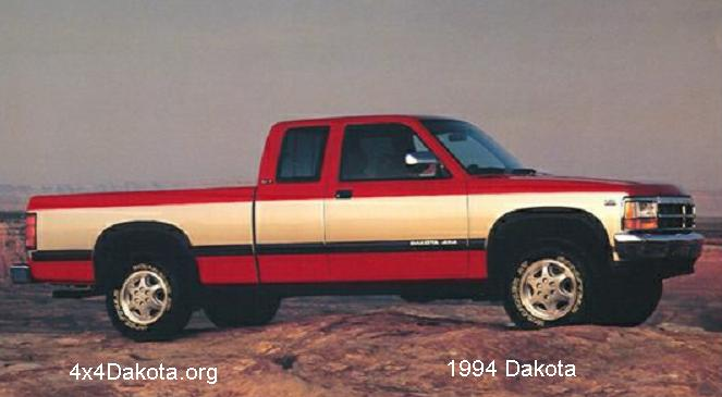 dodge dakota 1994 Dodge Dakota  1991 1996 specs