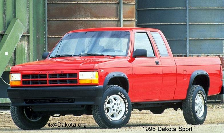 Dodge Dakota  1991 1996 specs