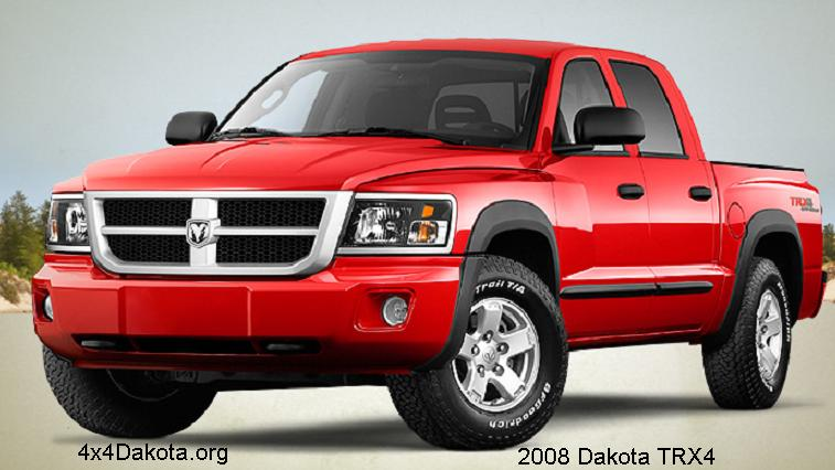 Dodge Dakota- 2008-2011 specs