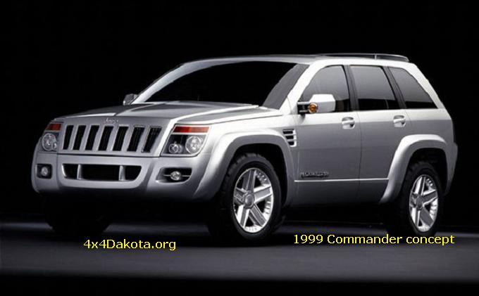 Jeep Commander Concept 1999 Specs 4x4dakota Midsize Mopar 4