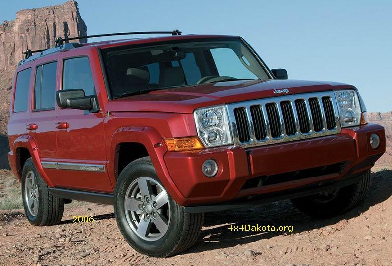 Jeep Commander- 2006-2010 specs | 4x4Dakota.org: Midsize ...