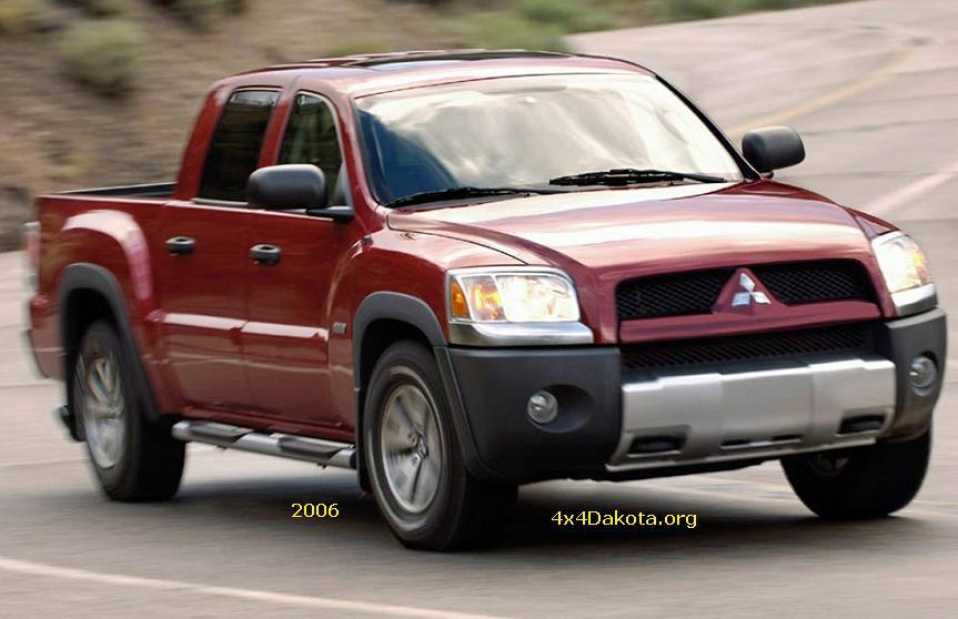 mitsubishi raider 2006 2009 specs midsize mopar 4 wheel drive. Black Bedroom Furniture Sets. Home Design Ideas