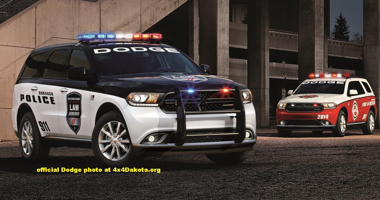 2014 Dodge Durango Special Service Police